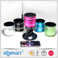 2014 new 10W bluetooth vibration speaker with suction cup, remote and bluetooth handsfree function-Mixed color Wholesale