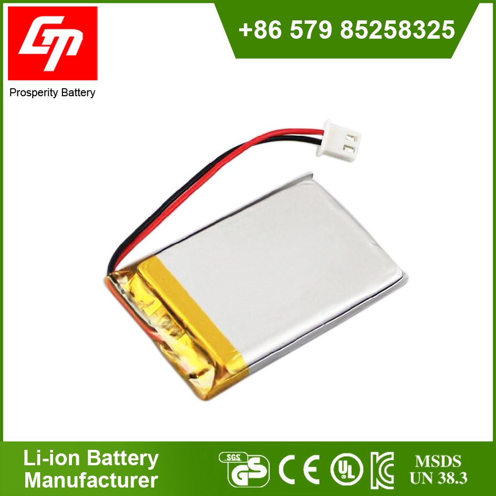 Polymer 503450, 1000mah 3.7V learning machine, story machine, rechargeable lithium battery