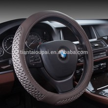 New product 2017 promotional car steering wheel covers for gift