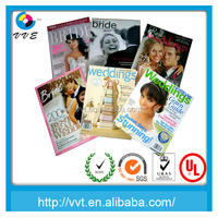 Manager colorful printing free adult magazines for purpose