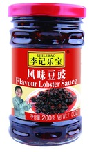 wholesale condiment Chinese flavor black bean sauce with chili oil