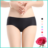 Seamless Sexy Women Tight Panties Nylon Smoothly Fabric