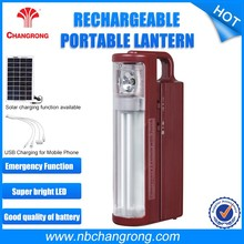 Led light portable rechargeable camping lantern