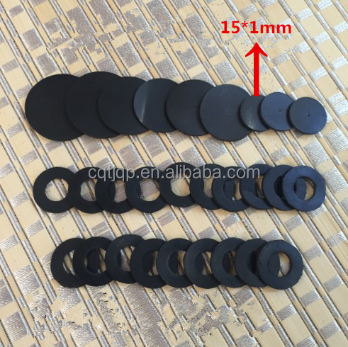 Small Flat Round Rubber Gasket