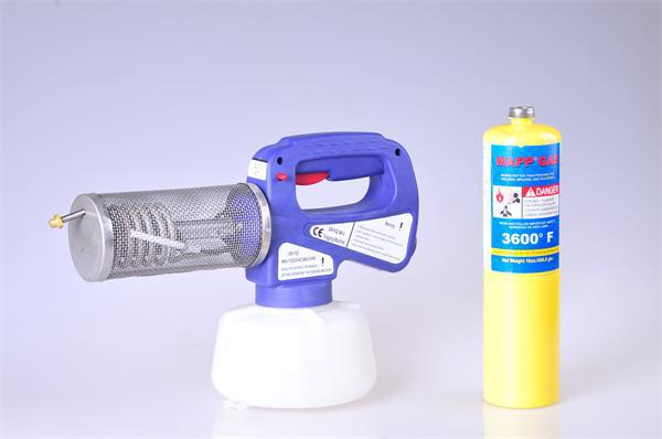 CE ISO super hot sale 1.3L propane smoker mite treatment fogger of killer bee mite ,mosquitoes