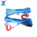 JMAX uhmwpe electric atv winch synthetic rope