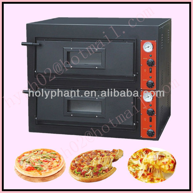 2 Layer electric deck baking pizza machine for sale