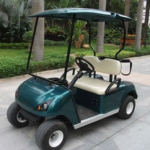 Max travel distance 80-100km 2 Seats Electric solar powered golf cart DG-C2(China)