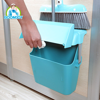 Hot sale cleaning tools high quality PP plastic broom and dustpan set