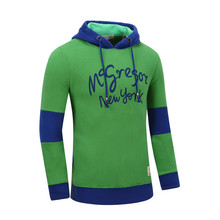 Pullover boys adult clothing Hoodie made in China with fleece inside
