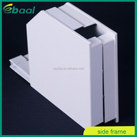 Box end frames formed of die cast aluminum