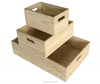 Wood Material and Accept Custom Order wooden crate