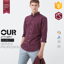 China Factory OEM High Quality Comfortable Customize Long Sleeve Plaids Mens Dress Shirt And Pants