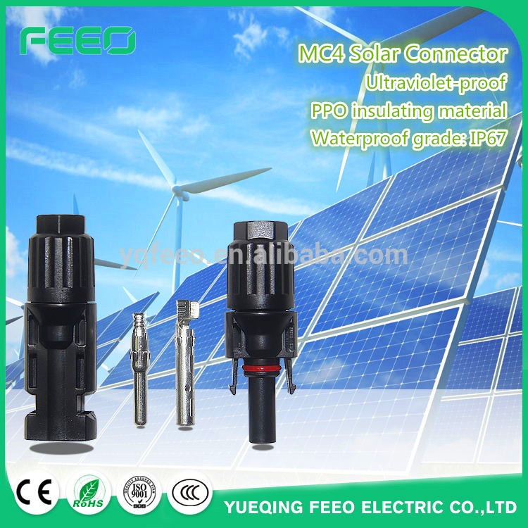 CE IP67 4mm mc4 cable extensions solar mc4 extending cable ip65 waterproof mc4 connector for solar panels