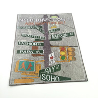 New Style Tin Metal Painted License