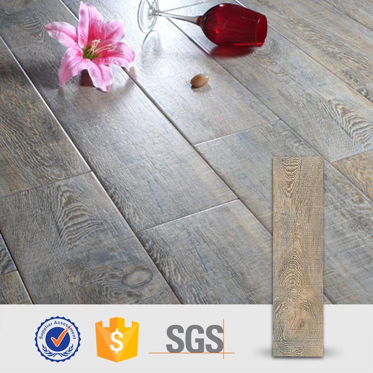 Wood finish ceramic tiles
