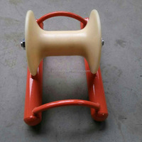 Nylon or aluminium alloy wheels cable guide pulley