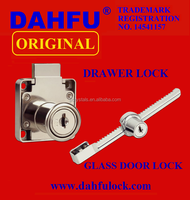 DRAWER LOCK GLASS SLIDING DOOR HANDLE PUSH LOCK HARDWARE DRAWER LOCK