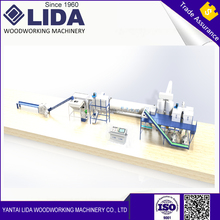 LIDA 2-3T/H complete biomass pine Wood pellet production line for sale
