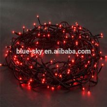 Bright Red LED String Decorative Christmas Tree Light Indoor Outdoor Lighting