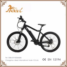 Green energy full suspension electric mountain bike with hub motor from china