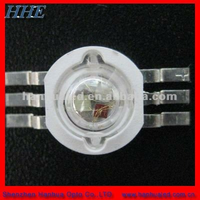 3w tri color high power led for stage light (6pins)