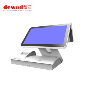 New Designs Android 5.1 Doual Touch Screen POS System All In One POS System Cashier For Shops