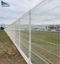 Anping Factory High Quality Cheap Price 3d galvanized steel welded wire mesh fence panels