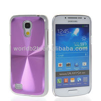 CD Lines Aluminum Clear PC Hard Case Cover For Samsung Galaxy S4 Mini i9190