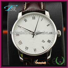 genuine leather time service international watches for men with high quality