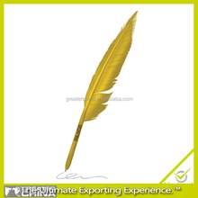 logo promotional ballpoint pen, gift feather pens
