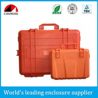 Hard watertight protective case for equipment