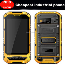"4"" Dual SIM NFC IP68 Waterproof Rugged Smartphone Android 4.4.2 Quad-core smart phone 3G"
