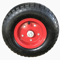 13 inch pneumatic wheels used for warehouse or industrial hand truck trolley