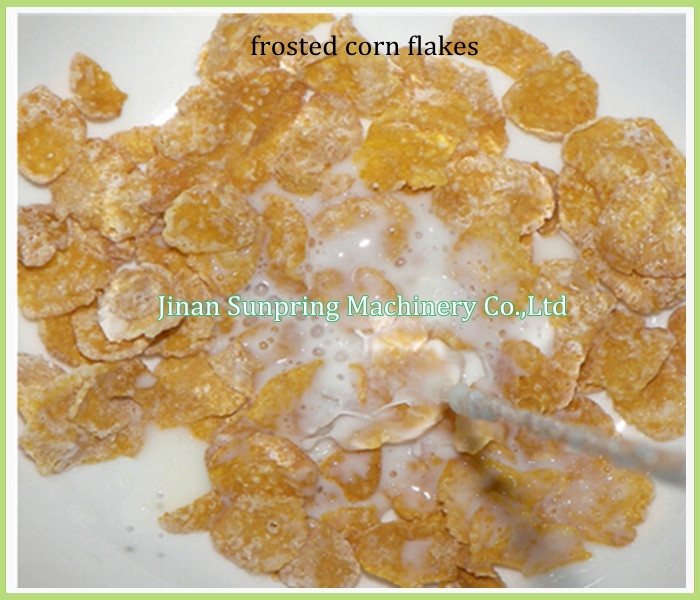 Corn Flakes Extruder Machine