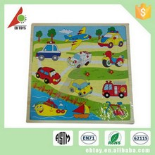 Hot sale 100 pcs wooden educational Jigsaw puzzle toy,kids play game jigsaw puzzle