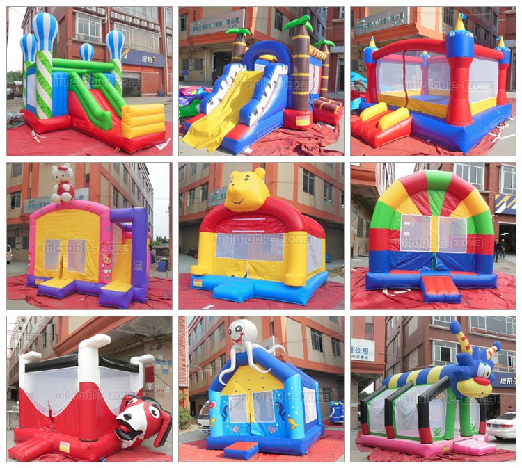 High quality inflatable jumping castle inflatable bounce house with slide sale