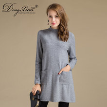 Women'S Long Dress Pullover Merino Wool Sweater For Winter Spring Autumn