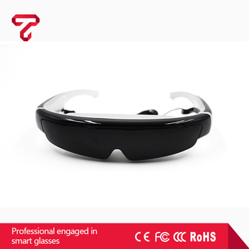 Professional HD Digital 98 inch virtual display video glasses virtual reality 3d glasses
