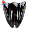 100% Guaranteed Brand New Cool Black Windscreen/Windshield Suitable For Kawasaki Z1000 2010 2011 2012 2013 Hot Sale !!