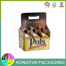 Wholesale custom corrugated cardboard box for beer carrier