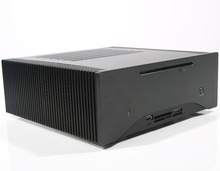 Aluminum MINI ITX fanless pc htpc cases