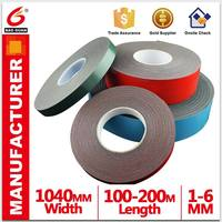 Alibaba China home decoration PE/EVA oil sounding foam tape with strong stretch