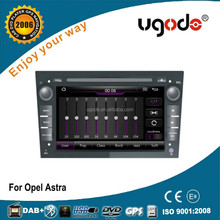 ugode U7 platform 7 inch wince 6.0 double din car gps navigation for opel astra