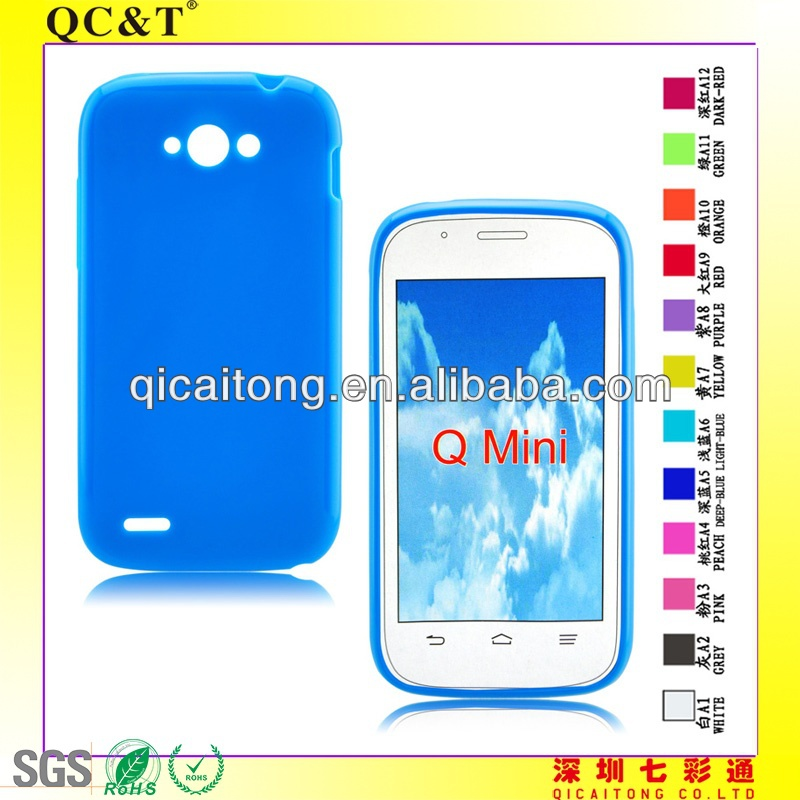mobile phone pudding TPU case for ZTE BLADE <strong>Q</strong> MINI