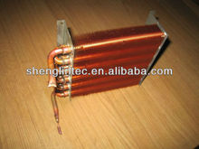 RoHS approved floor standing air conditioner copper tube and aluminum fin condenser
