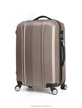 Men's business luggage ABS travelling suitcase factory trolley bag
