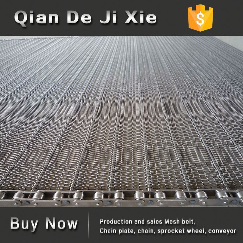 Qiande Metal Round Conveyor Belt Chain <strong>Mesh</strong>