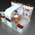 Detian offer portable stand Display Modular Exhibition Stands 3x4 or 3x3 or 3x5