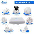 Wifi Smart burglar alarm System,IP Wireless Safe home secutity IP alarm system